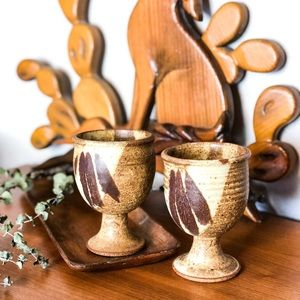 Handmade Ceramic Goblets